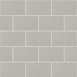 bathroom tile wallpaper  Kitchen and Bathroom Grey Glitter Tile Wallpaper London Brick Tiling ...