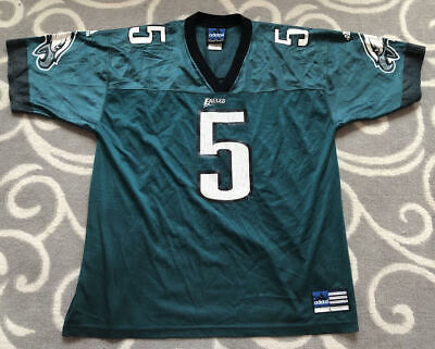 Adidas NFL Philadelphia Eagles Donovan Mcnabb #5 Green Football NFL Jersey Large | eBay