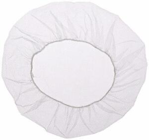 "Superior Shield-Safety Nylon Mesh Hairnet 21"" Length White (1000 Pieces)"
