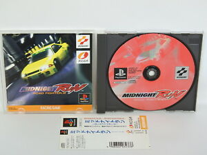 PS1-MIDNIGHT-RUN-Road-Fighter-2-with-SPINE-Playstation-Japan-p1