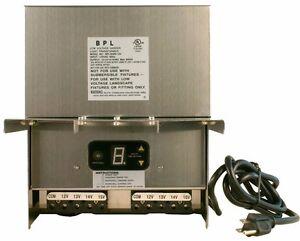 Image is loading 600-Watt-Stainless-Steel-Low-Voltage-Landscape-Light-  sc 1 st  eBay & 600 Watt Stainless Steel Low Voltage Landscape Light Transformer LED ...