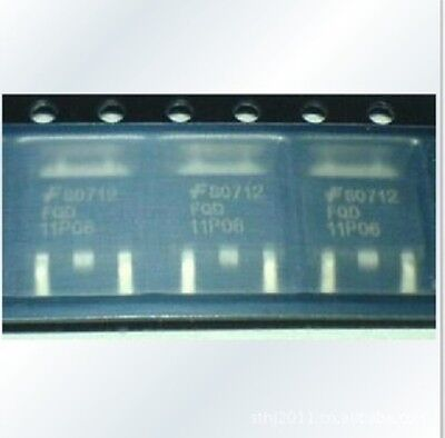 FAIRCHIL FQD11P06 TO-252 60V P-Channel MOSFET