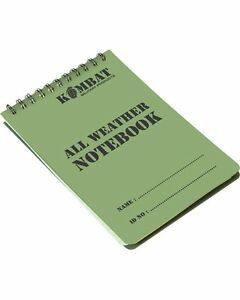 Army Military Note Pad Paper Book Waterproof Water Proof Dry A6 Notepad X QTY 10