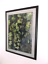 """thumbnail 2 - Autumn Leaves Watercolor Painting Framed Sweden Olle Dahlberg Large 42"""" x 32"""""""