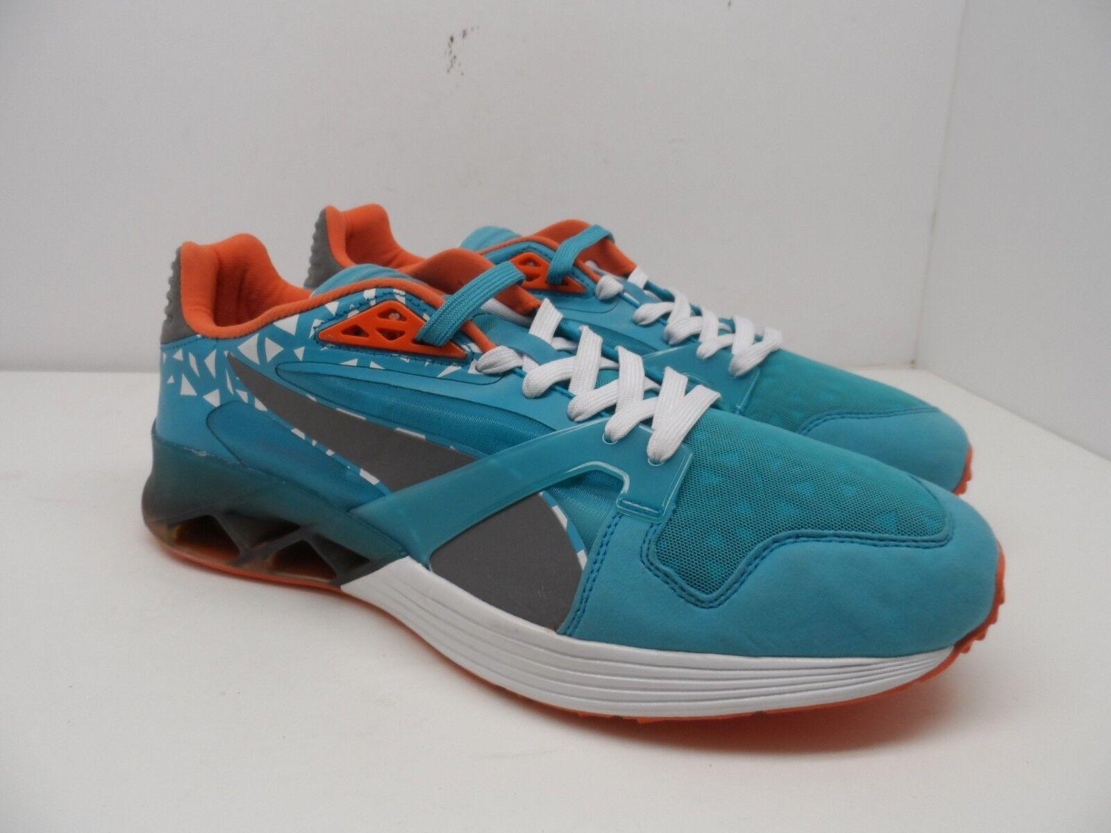PUMA Men's Future XT-Runner Translucent Sneaker Translucent Green Size 12M