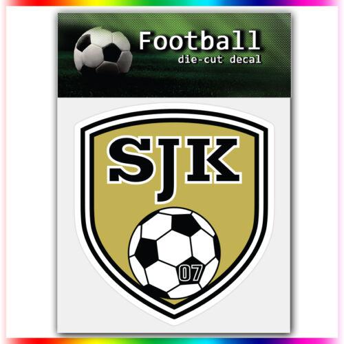 "SJK Sein?joki UEFA Die Cut Vinyl Sticker Car Bumper Window 3.7/""x4/"""