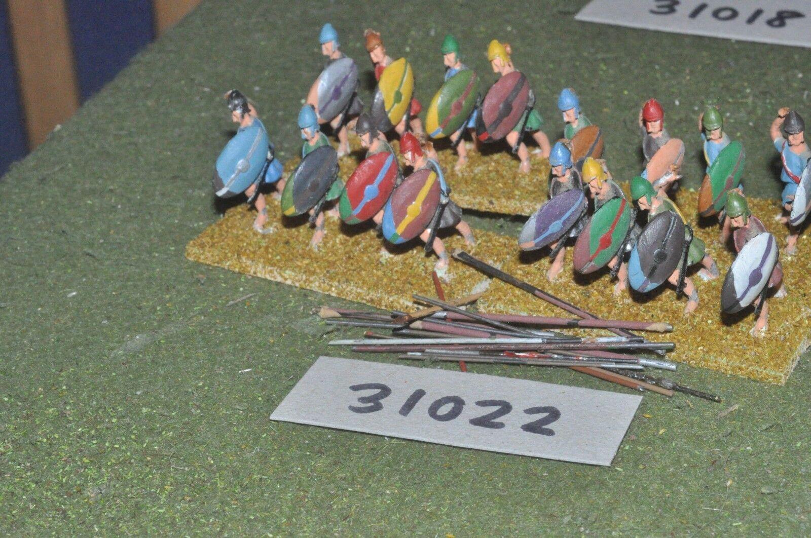 25mm classical   greek - javelinmen 16 figures - inf (31022)