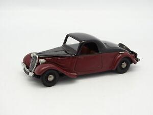 evrat kit mont r sine sb 1 43 citroen traction faux cabriolet rouge et noire ebay. Black Bedroom Furniture Sets. Home Design Ideas