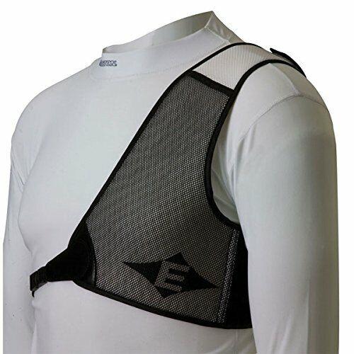 NEW Easton Chest Guard PROTECTOR Black//White RH 416773 dmnd med BEST PRICE