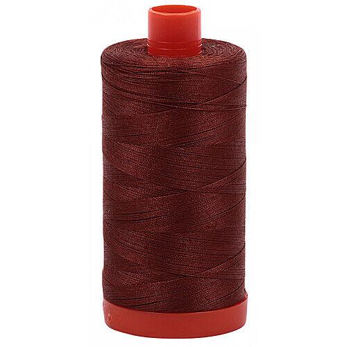 Ocher Yellow 5001 New AURIFIL Large Spool Thread 50 wt 1422 yards