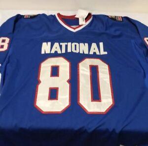 newest 7c13d bd0d8 Details about Men's Vintage Jerry Rice Mitchell & Ness Sewn Authentic 1990  Pro Bowl Jersey 60