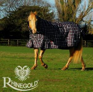 Rhinegold-Glacier-320-G-Heavyweight-Full-cou-combo-cheval-participation-tapis