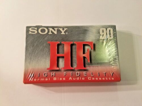 NEW HF90 SONY BLANK AUDIO COMPACT CASSETTE HF 90 TAPE type 1 normal bias