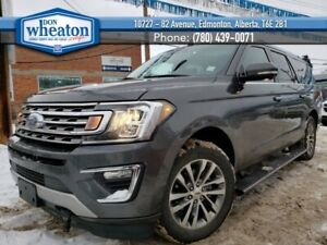 2018 Ford Expedition Limited Max 4x4 Sunroof Nav Power Boards Heated &