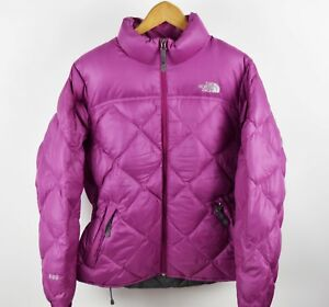 2832996492 Womens North Face PINK M Size Medium 600 Down Puffer Jacket Great ...