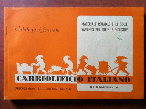 Carriolificio Italiano catalogo generale Carmagnola 1942 E12350