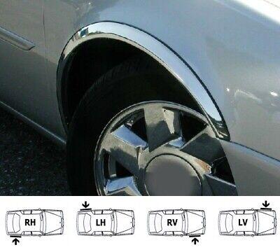 98-05 BMW 3 E46 Radlauf Zierleisten  SCHWARZ Tuning Satz 2 Stück hinten  Bj