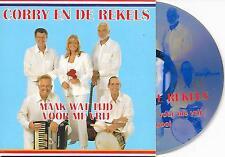 CORRY EN DE REKELS - Maak wat tijd voor me vrij CD SINGLE 2TR DUTCH CARDSLEEVE