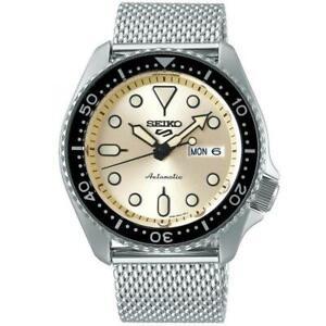 SEIKO SRPE75K1 Seiko 5 Automatic Stainless Steel Bracelet Authorised Stockist