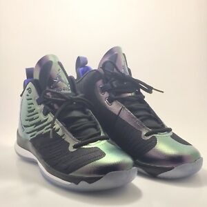 1c67a94a032 Nike Air Jordan Super Fly 5 Men s Basketball Shoes Purple Black Size ...