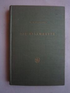 """Jäger & Waidmann """"die Bisamratte"""",biologie,fanggeräte,fangmethoden.köder,nahrung,balg,1958 Feines Handwerk"""
