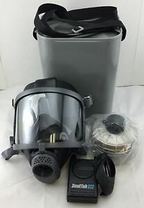 Scott Domestic Preparedness Gas Mask with NBC Filter, Voice Amp & Carry Case NEW