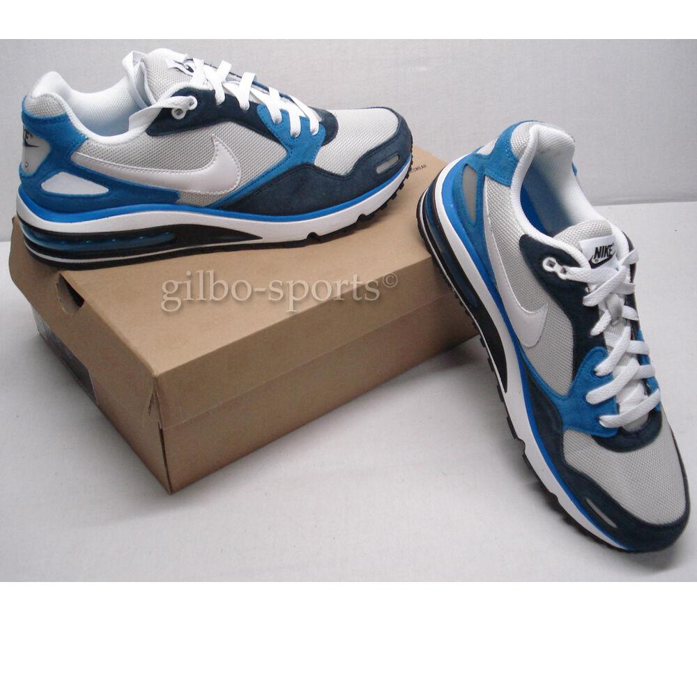 Nike Air Max Direct Weiß grau Blau Größe  41  blau 579923 014 Airmax
