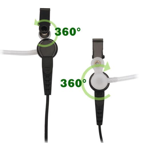 HKLN4601 1-Wire Surveillance Earpiece Earphone for Motorola CP100 CP200D GP88s