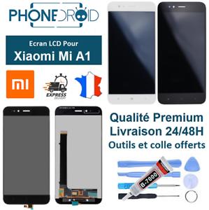 Ecran-complet-LCD-tactile-Xiaomi-MI-A1-Outils-et-colle-stock-FR