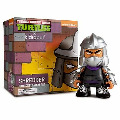 Teenage Mutant Ninja Turtle Shredder Kidrobot Medium Vinyl Figure