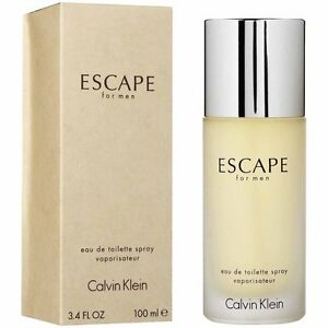 CALVIN KLEIN ESCAPE MEN EDT 100ML - COD + FREE SHIPPING