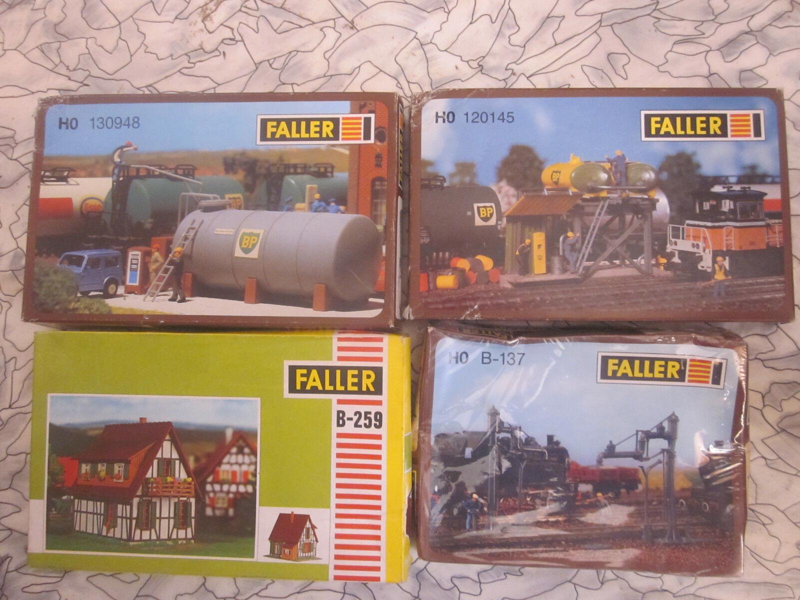 Ftuttier h0 120145 130948 b-259 b-137 b-137 b-137 4 diversi KIT  NUOVO + OVP 3f5199