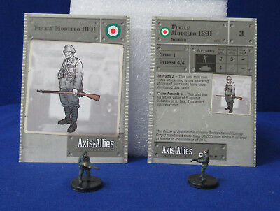 Axis /& Allies Base Set SS-Panzergrenadier with card 39//48