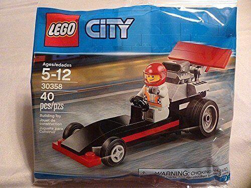 Lego City 30358 Dragster Racer Promo Polybag Conjunto