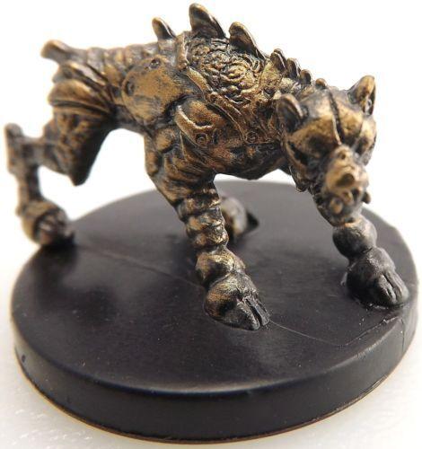IRON DEFENDER  #36  Warforged Dog!! D/&D Mini Dungeons of Dread - UNUSED!!
