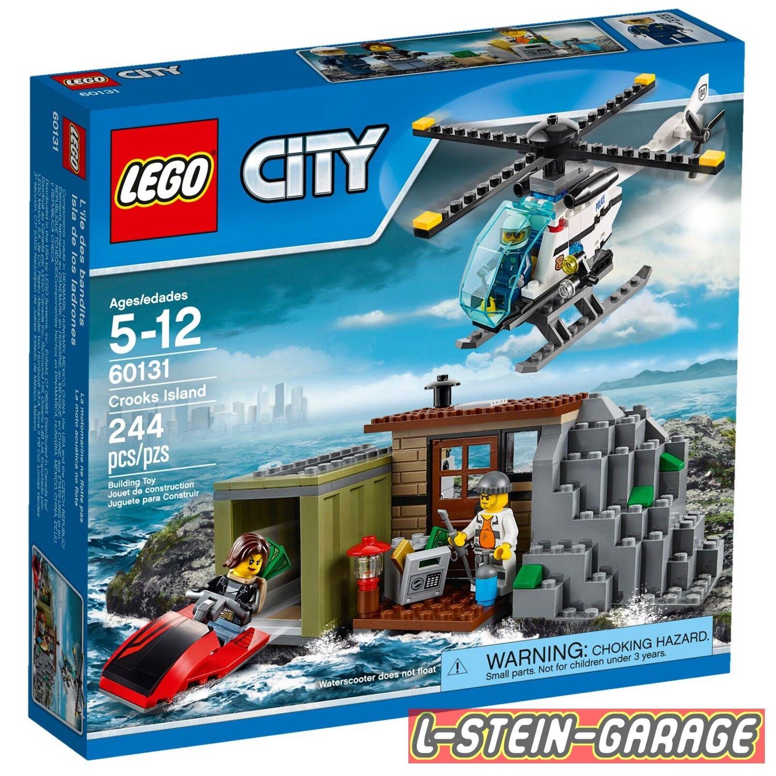 LEGO® City 60131 60131 60131 Gaunerinsel NEU & OVP 34a3e5