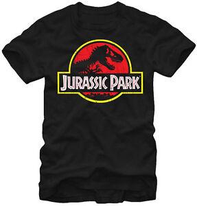 Jurassic-Park-TRex-Logo-Adult-T-Shirt-Official-Jurassic-World-Dinosaurs-T-Rex