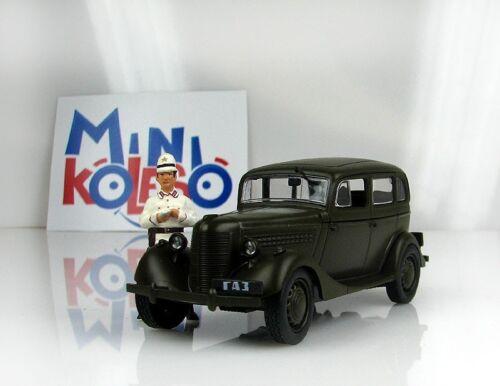 GAZ 11-73 emka Газ USSR Soviet Auto Legends Diecast Model 1:43 #19