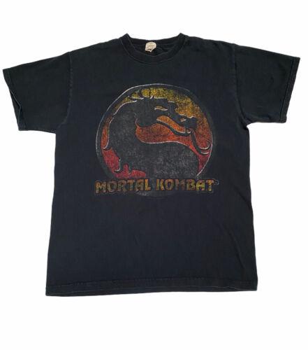Vtg Mortal Kombat Graphic Tee Shirt Size M