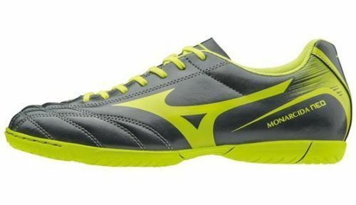 shoes CALCETTO MIZUNO MONARCIDA NEO AS grey LIME TURF OUTDOOR P1GD172437