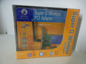 DRIVERS: BLITZZ BWI715 SUPER G WIRELESS PCI ADAPTER