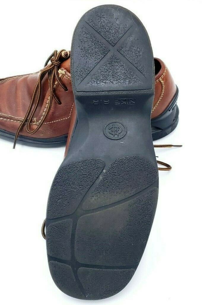 Cole Haan Country Mens Sz 9M 9M 9M braun Leather Ankle Casual Lace-Up NikeAir Soles afb216