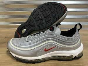 Details about Nike Air Max 97 Running Shoes OG Silver Bullet 2009 Red SZ 10.5 ( 317170 061 )