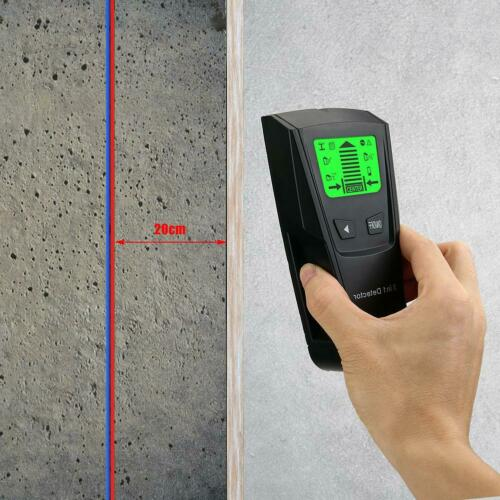 Metal Finder Wood Studs Detector AC Voltage Live ABS Wire Detect Wall Scanner