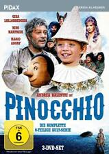 Pinocchio * DVD 6-teilige Serie mit Gina Lollobrigida Mario Adorf * Pidax Neu