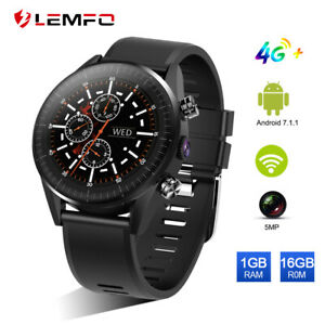 Details about LEMFO KC05 Smart Watch Phone 4G SIM Wifi GPS 16GB Heart Rate  For Android IOS