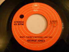 GEORGE JONES NM Baby There's Nothing Like You 45 These Days I Barely Get By
