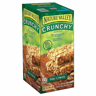Nature Valley Oats 'N Honey Crunchy Granola Bars 60ct