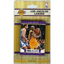 2012-13 Panini NBA Hoops Factory Sealed Team Set Los Angeles Lakers (10 Cards)