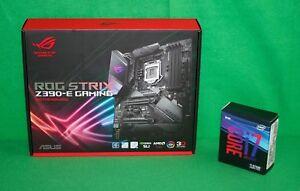 Intel i7-9700K 3.6GHz x8 Core + Asus ROG Strix Z390-E...